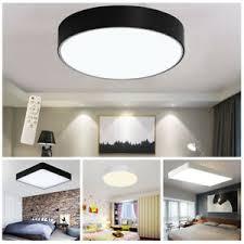 Darüber hinaus lassen sich die leuchtmittel. Led Deckenlampe Dimmbar Deckenleuchte Wohnzimmer Lampe Acryl Mit Fernbedienung Ebay