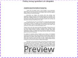 history essay questions on cleopatra college paper academic service history essay questions on cleopatra cleopatra essay learn all you gh history essay questions