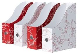 Cardboard Magazine File Holders Omege Products 89
