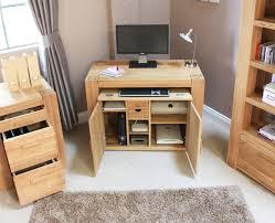 conran solid oak hidden home office. Hidden Office Furniture. Mesmerizing Hampton Home Desk Awesome Oak Furniture Conran Solid