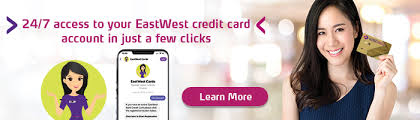 People are now moving to cashless add an eastwest credit card to your account list and make the payment. Credit Card