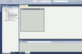 c Курсовая работа на c База данных ms sql server bestprog После создания нового проекта главная форма программы имеет вид как показано на рисунке 2 1