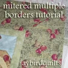 How to Make Multiple Mitered Borders | FaveQuilts.com & How to Make Multiple Mitered Borders Adamdwight.com
