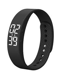 Couple's Sport Watch Digital Silicone White / <b>Blue</b> / <b>Pink</b> 30 m <b>Water</b> ...