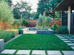 Small Picture Simple and Sustainable Garden Garden Design