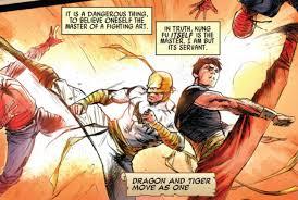 Iron fist fighting style