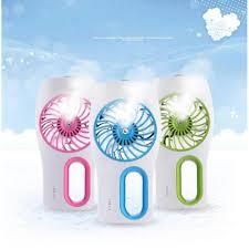 Shop bán Máy phun sương tạo ẩm , Giá quạt phun sương - Quạt phun sương hơi  nước mini gọn nhẹ - tiện dụng - hàng cao cấp - giá rẻ -