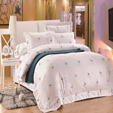 five stars hotel 100 cotton free white duvet cover hotel bed set high quality