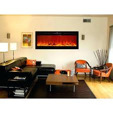 flush mounted electric fireplaces