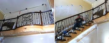 stair railing cost ornamental wrought iron staircase railing orange county ca angels ornamental iron gallery glass