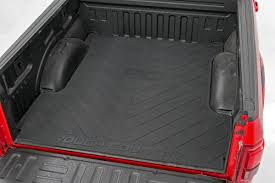 Truck Bed Mat w/ Rough Country Logo for 2003-2019 Dodge Ram 1500 ...