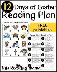 12 Days Of Easter Reading Plan For Kids This Reading Mama