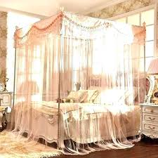 Bed Curtains Black Canopy Bed Curtains Canopy Bed Drapes Full Size ...
