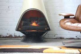 mid century modern electric fireplace with regard to majestic fireplaces idea 6