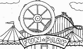 Carnival Coloring Pages Preschool Carnival Coloring Pages Games