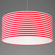 large red and white stripes with white lining