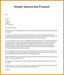 Proposal For Sponsorship Template Impressive How To Write A Sponsorship Proposal Template Levels And Benefits For