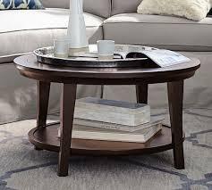 metropolitan round coffee table