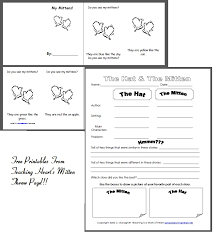 Mitten Printables | Mittens, Therapy and School