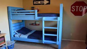 How To Build Pallet Bunk Beds Youtube