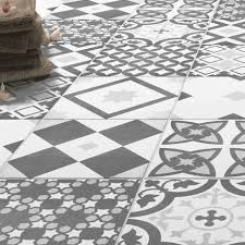 Grey Patterned Tiles