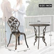 new outdoor bistro set patio bistro