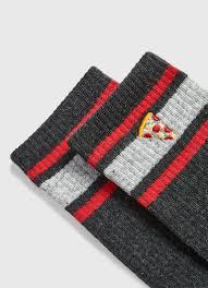 <b>Носки с вышивкой</b> «пицца» (MN6V46-97) купить за 149 руб. в ...
