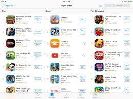 App Store Top Charts Report Apple Considering A Paid Search Model For The App
