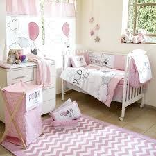 engaging baby pink cot bedding sets nursery girl crib design best set images on gingham crib skirt organic pink gingham jersey knit nursery bedding set