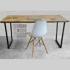 modern unique office desks. modern wood desk with reclaimed top in choice of sizes or finishes unique office desks