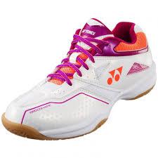 Yonex Power Cushion 36 <b>Women's</b> [Indoor] White/<b>Pink Shoes</b> (<b>2019</b> ...