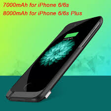 iphone 6 battery size imeaning king size 7000mah power case for iphone 6 6s external