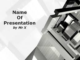 Architectural Powerpoint Template Home Plan Of Architect Powerpoint Template