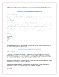 19 Reference Letter Examples Pdf Word Examples