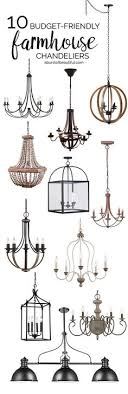 modern farmhouse lighting. budgetfriendly farmhouse chandeliers modern lighting