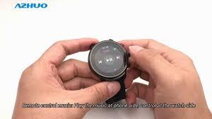 <b>2019 New Smart Watch</b> Microwear L5 Smart Watch Review - YouTube
