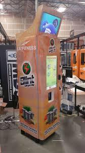 Protein Shake Vending Machine Extraordinary Rotulada Con La Imagen De L A Fitness Blint Protein Shake