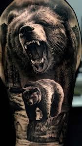 медведь медведт татуировки медведя идеи для татуировок и татуировки