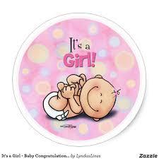 Congratulations Baby Girl Clipart