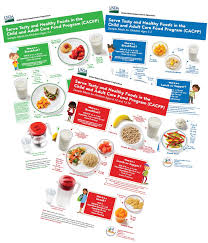 Cacfp Meal Pattern New CACFP Child Family Resources Inc