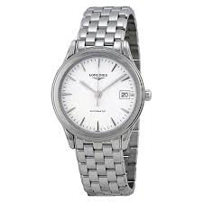 longines flagship automatic white dial men s watch l4 774 4 12 6