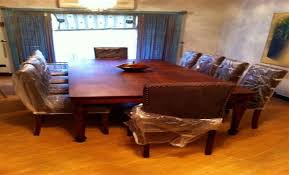 dining table 10 chairs. dining table with 10 leather upholstered chairs