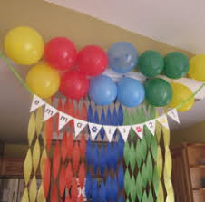 birthday party decoration ideas at home home decor 2018