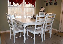 kitchen table and chairs. Dining Table Painting Ideas Kitchen And Chairs