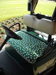 Golf Cart Seat Cover Pattern Simple Inspiration