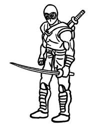 Small Picture Top Ten Ninja Coloring Pages for Kids Coloring Pages