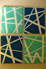 38 Best Decor Images On Pinterest | Canvas Ideas, Tape Painting Pertaining  To Duct Tape