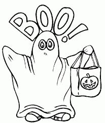 Small Picture 20 Free Printable Ghost Coloring Pages EverFreeColoringcom