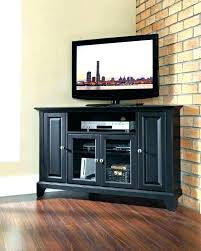 65 Inch Tv Stand With Fireplace Corner Impressive Small In Black  Wood For Black Inch Tv Stand2