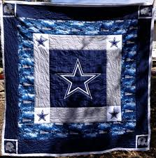 My newest grandson Isaiah's quilt with Dallas Cowboy theme ... & My newest grandson Isaiah's quilt with Dallas Cowboy theme Adamdwight.com